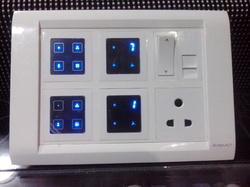 Modular Touch Switch with I.R. Remote