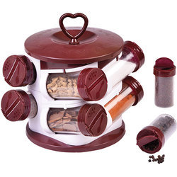 8 Pieces Spice Jar Set