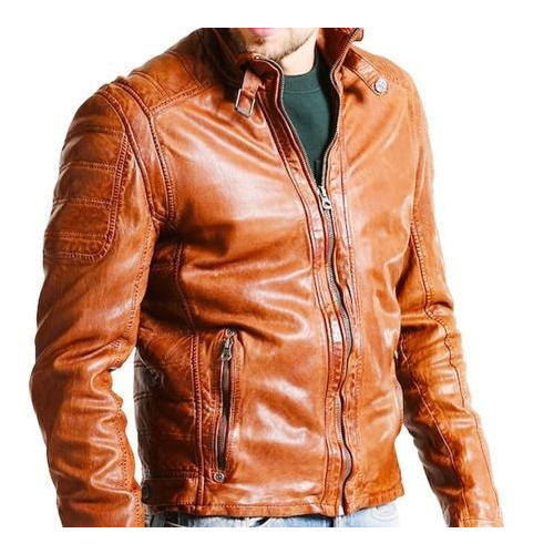 f89aa27f1656 Leather Designer Brown Jacket, Size: S-XL, Rs 4400 /piece | ID ...