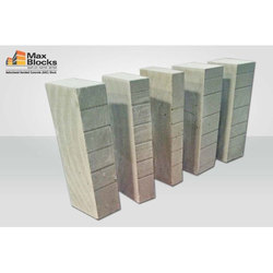 Gray Rough Fly Ash AAC Blocks, Side Walls, Partition Walls, for Side Walls