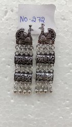 Oxidized Party Wear Earring