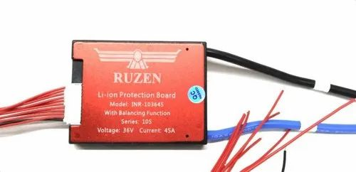 42v 10s 45a Waterproof Lithium Ion Bms