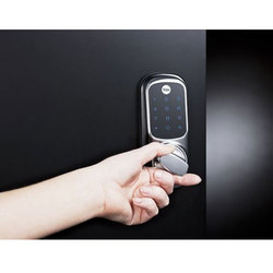 Electronic Door Lock, Stainless Steel
