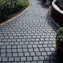 Black Cobble Stone for Driveway