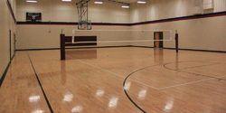 Wooden Volleyball Court Flooring