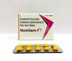 Doxylamine 10 Mg  Pyridoxine 10 Mg Folic Acid 2.5 Tablets