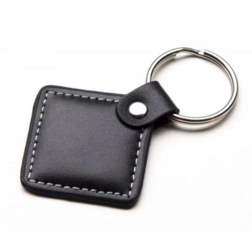 Standard Black Leather Key Chain 9536e62b999c