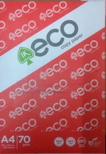 Copier Paper - IK Eco Copy Paper Importer from Delhi