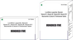 L-Ornithine L-Aspartate Silymarin Vit B1, B2,B6 & B12 Niacinamide & Calcium D Panthoenate Tablets