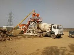 Pan Mixer Batching Plant
