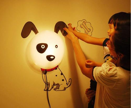 Wall Sticker Decal Lamp For Kids Room Decoration Led Night Light