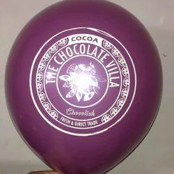 Violet Printing Balloons