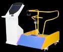 Standing Roller Coaster Arcade Game Machine
