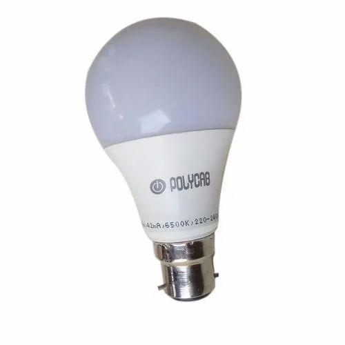 220-240 V Electric 9W Polycab LED Bulb