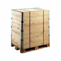 Wooden Pallet Cum Box, Capacity: 50-100 Kg