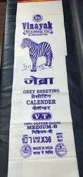 SVTC 100% Cotton Gray Markin Cloth, GSM: 100-150