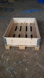 Two Way Wooden Pallet with Frame