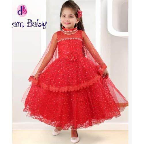 dfb37ca77 Party Wear Dream Baby Kids Gown With Poncho, Size: Small, Rs 1695 ...