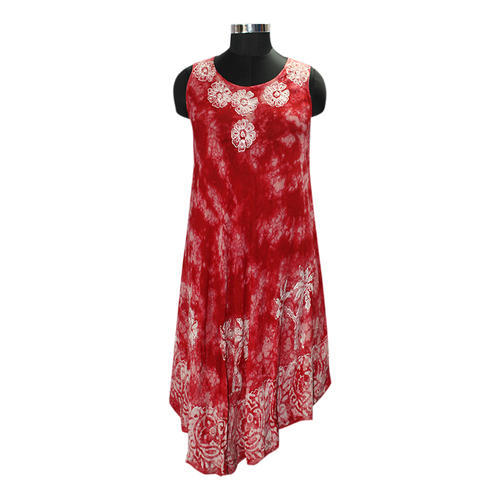 Free Size Batik Print Umbrella Dress, Rs 210 /piece, YC