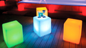 LED  And Waterproof Cube