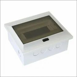 Raj Kumar Mild Steel Silverline MCB Distribution Box with Push Button, For Electric Fittings