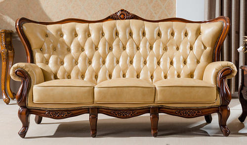 Superior Wooden Covered Sofa Set