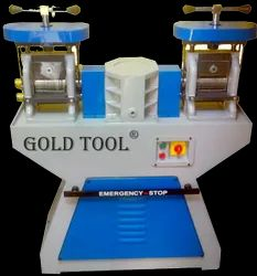 Gold Tool Rolling Mills Combined Double Head With Gear Box