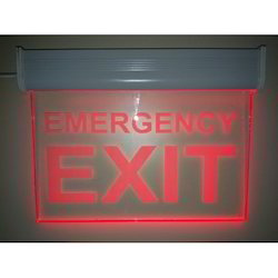 LED Emergency Exit Signage