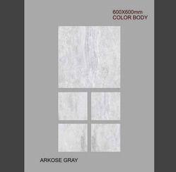 Arkose Grey Full Body Porcelain Tiles