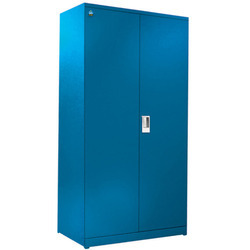 ABS 78 Inch Blue Stainless Steel Almirah, For Office