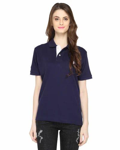 dark blue womens shirt