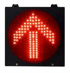 Yellow Arrow Traffic Signal