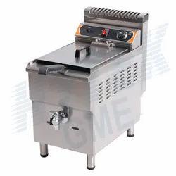Standing Type Electric Fryer Single Basket