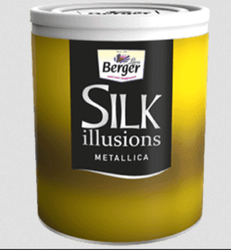 Berger Silk Illusions Metallica Paint