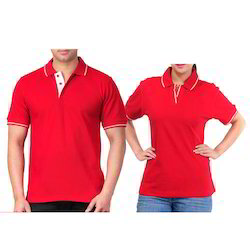 Polyester Printed Corporate Custom Collar Collar T Shirt Printing, 250