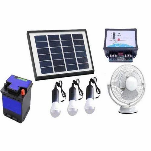 Solar Home Lighting: 10 W Mini Solar Home LED Lighting System Set, Rs 9999 /set
