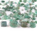 Natural Emerald Brilliant Cut Stones