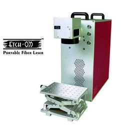 Portable Fiber Laser Marking Machine, EtchON FLE404D
