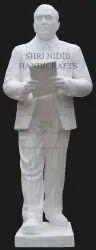White Marble Dr. B R Ambedkar Statue