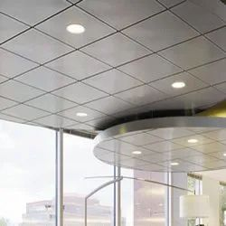 Indoor Grid False Ceiling Work