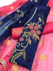 IDress Embroidered Ladies Suit Material