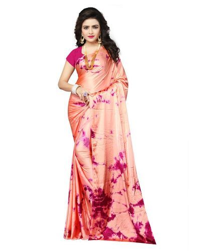 a84204d556 Satin Silk Designer Shibori Saree, Length: 6.3 M, Rs 750 /piece | ID ...