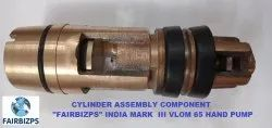 Cylinder Assembly - India Mark III Vlom 65 Hand Pumps