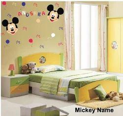 Big Stencils Mickey Name