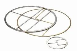 SRS Double Jacketed Gasket, Wooden Box, Thickness: 3mm