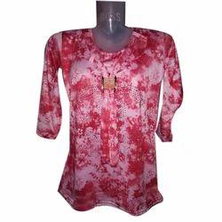 Girls Printed Fashion Cotton Top