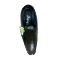Davinchi Black Leather Formal Shoes, Size: 6-9 And 7-10