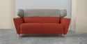 Standard Color Three Seater Fabric Sofa, For Home