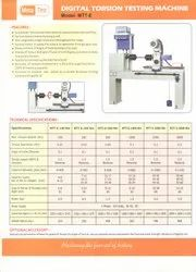 Meta-Test make Digital Torsion Testing Machine, Model Name/Number: Mtt-e