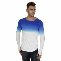 Mens Omre Shoulder Zip T-Shirt, Packaging Type: Packet